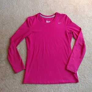 Nike pink DriFit cotton Tee in excellent condition